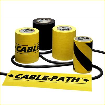 Cable Path (4 Inch) - BK, YL, Bk/YLW