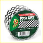 Duck 48mmx10y Checkered BK/WH (Roll)
