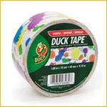 Duck 48mmx10y Paint Splatter (PACK)