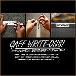 Gaff Write-Ons!
